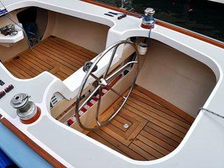"Boat Restoration - Columbia 5.5 Meter - ""Viken"""