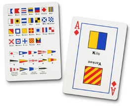 Father's Day Gift - Nautical Playing Cards